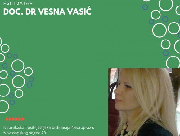 Doc. dr Vesna Vasić