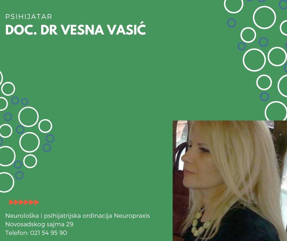 Doc. Dr. Vesna Vasić